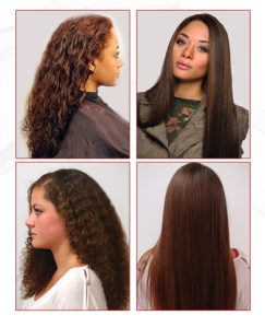how to keep hair straight after permanent straightening
